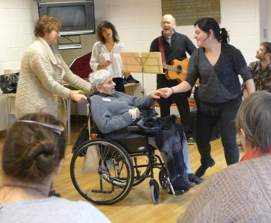 Singalong and Dancing January 2016