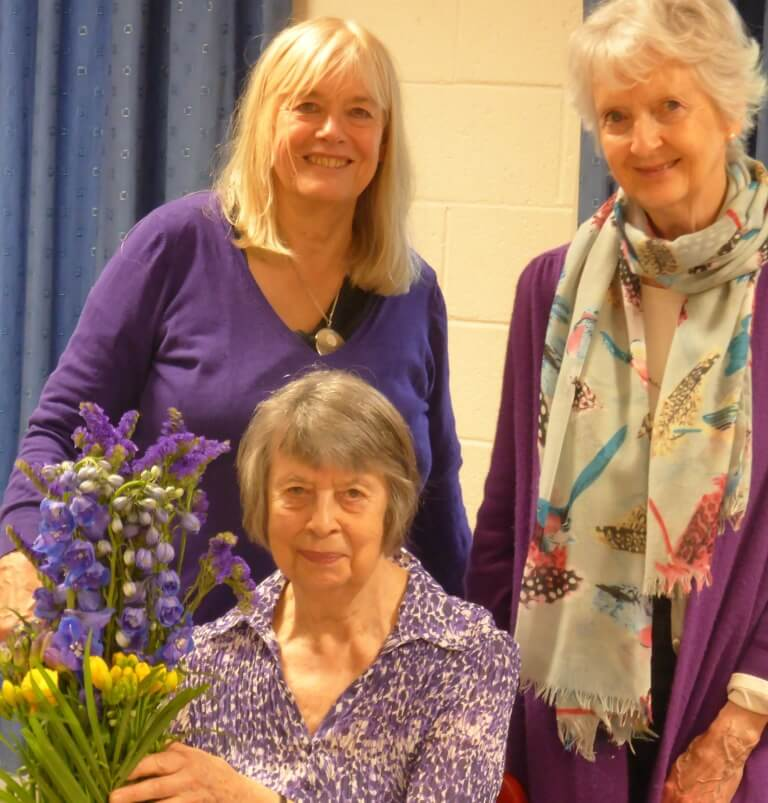 Celebrating Betty's 25 year as a volunteer