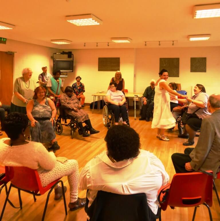 Dancing with Music for People July 2016